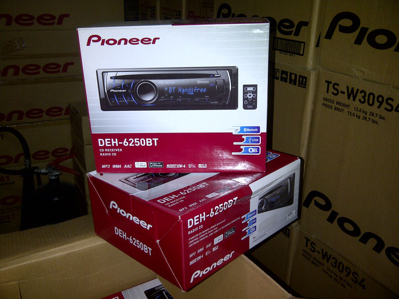 Car Audio System (DEH-6250BT)