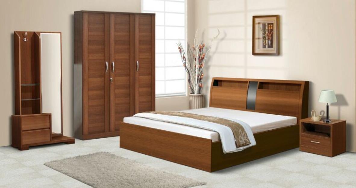 simple bedroom furniture set