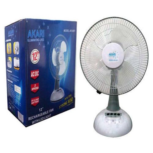 Rechargeable Fan With Led Light Manufacturer Exporters From