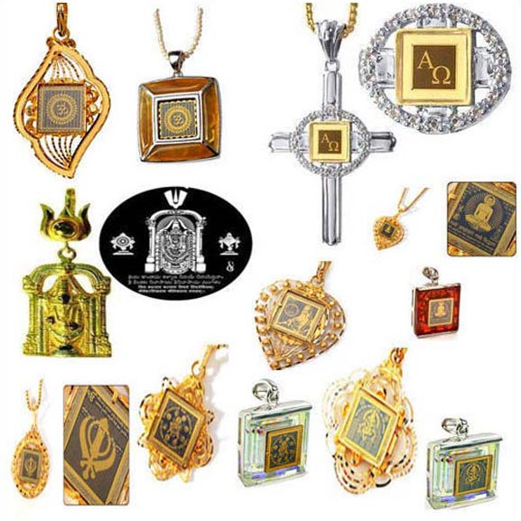 Spiritual Pendants Manufacturer & Exporters from, India   ID - 903441