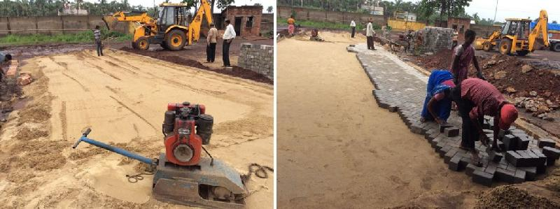 Services - Paver Block Road Construction Service in Kolkata