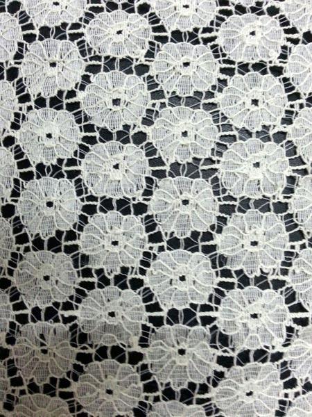 Cotton Raschel Lace Fabric