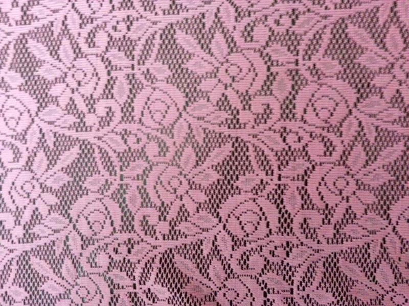 Polyester Lace Net Fabric