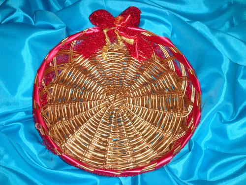 Buy Decorative Fruit Basket From Circle And Square New