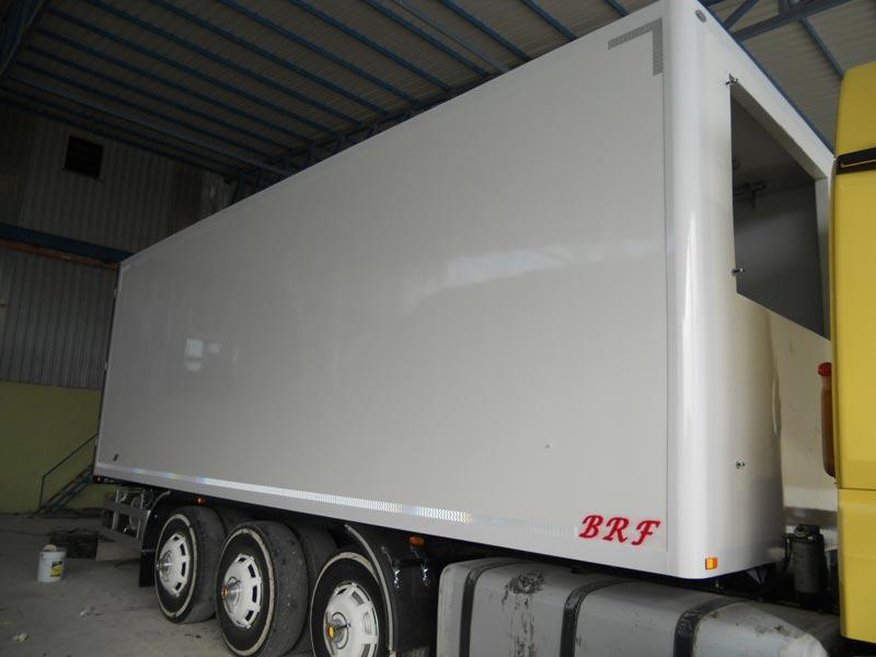 Buy Refrigerated Truck Body From Brf Trailer Turkey Id
