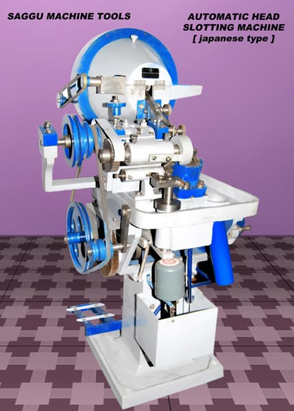Automatic Head Slotting Machine