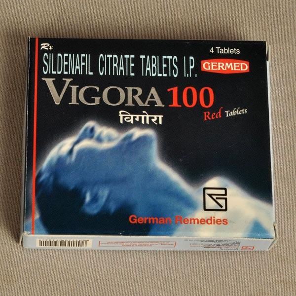 How use vigora 100