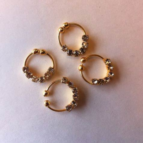 Gold Nose Rings Manufacturer in Pakistan by Fashion Vision Store