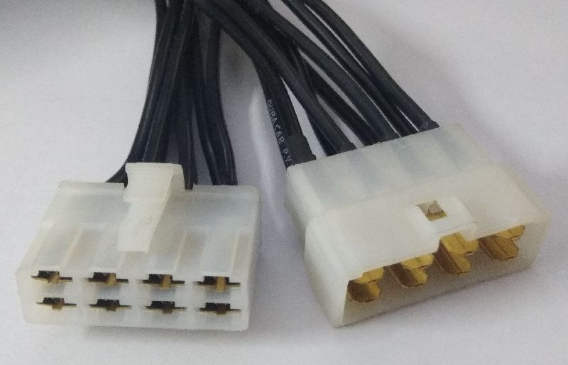 8 Pin Male- Harness Connector Harness Wiring Plugs on