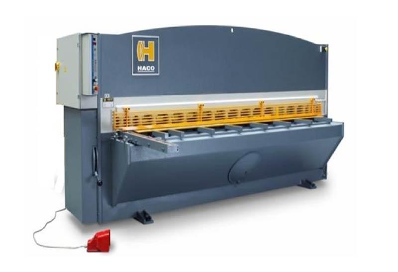 Haco Hydraulic Guillotine Shear, Belgium