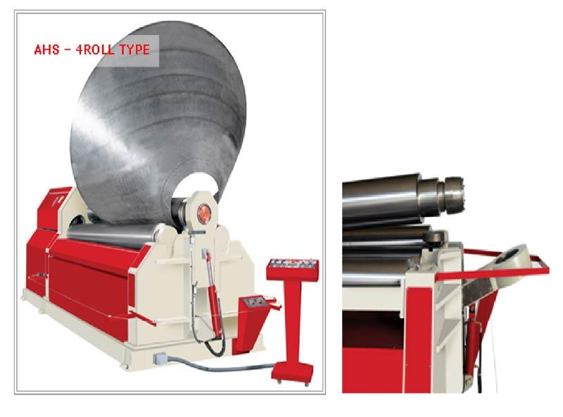 Hydraulic Plate Rolling Machine (APK)