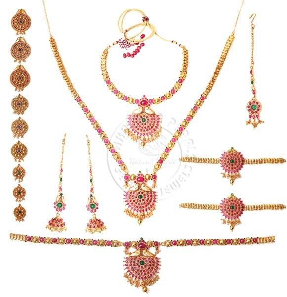 Products Antique Bridal Jewellery Set Manufacturer
