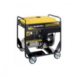 Subaru Rgv12100 10 000 Watt Electric Start Industrial Portable Generator Id 587027