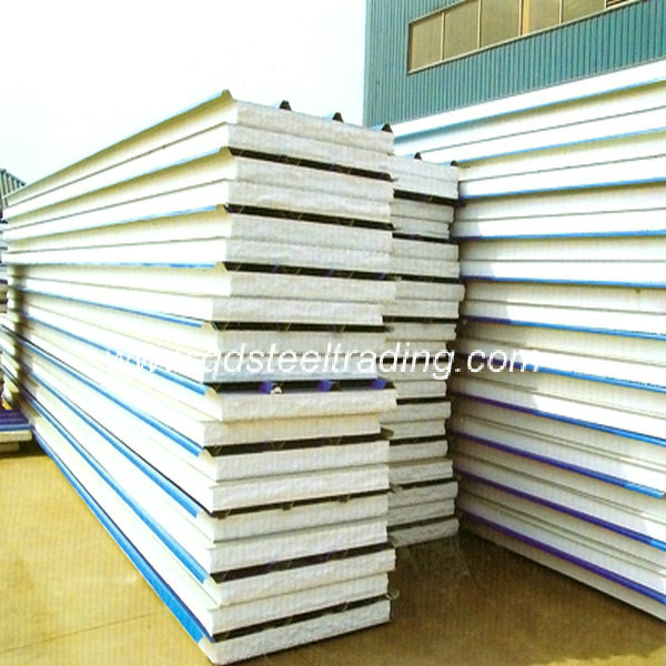 Buy Fire Proof Eps Sandwich Panel from Qingdao Steel Trading ...
