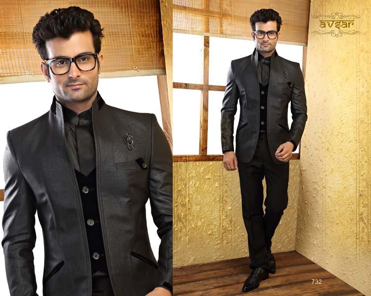 Buy Mens Designer Suit From Pride Creation Mumbai India