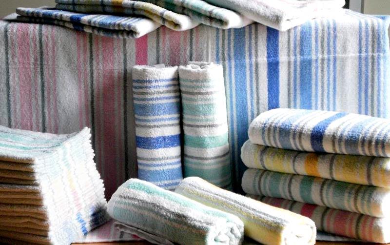 Stripes Jacquard Terry Towels