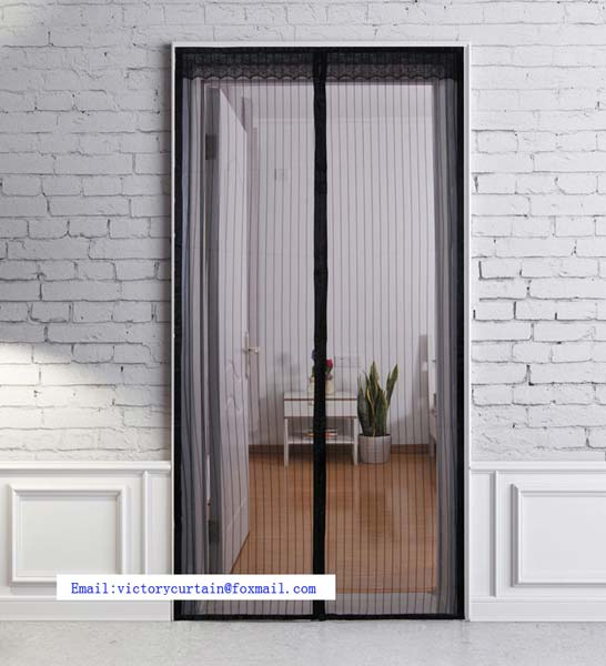 Decorative Magnetic Mosquito Net Sliding Screen Door