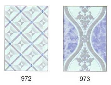 Ordinary Blue Printed Ceramic Wall Tiles