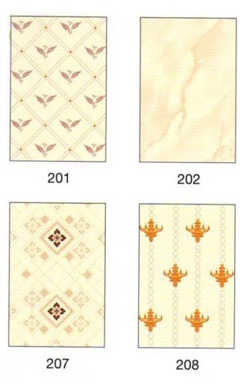 Ordinary Ivory Printed Ceramic Wall Tiles 8 X 12