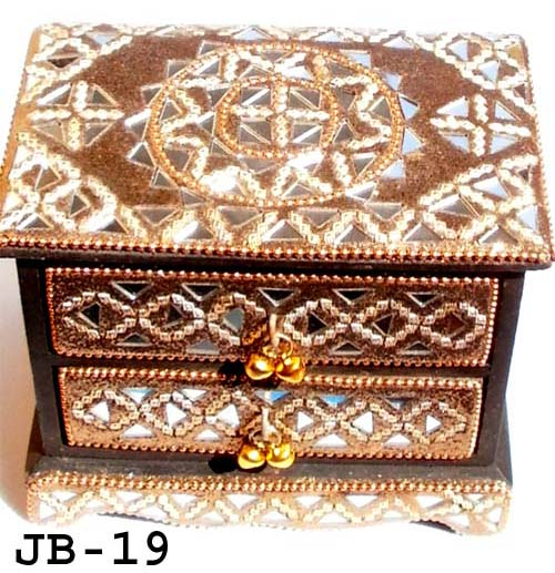 Buy fancy jewellery boxes from Rawat Handicrafts India ID 1699240