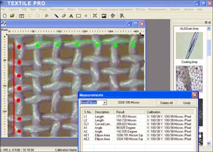 Textile Analysis Software
