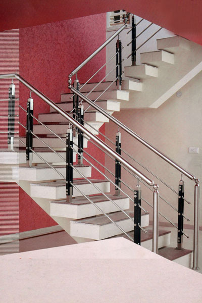 Perfect Stainless Steel Staircase Handrails
