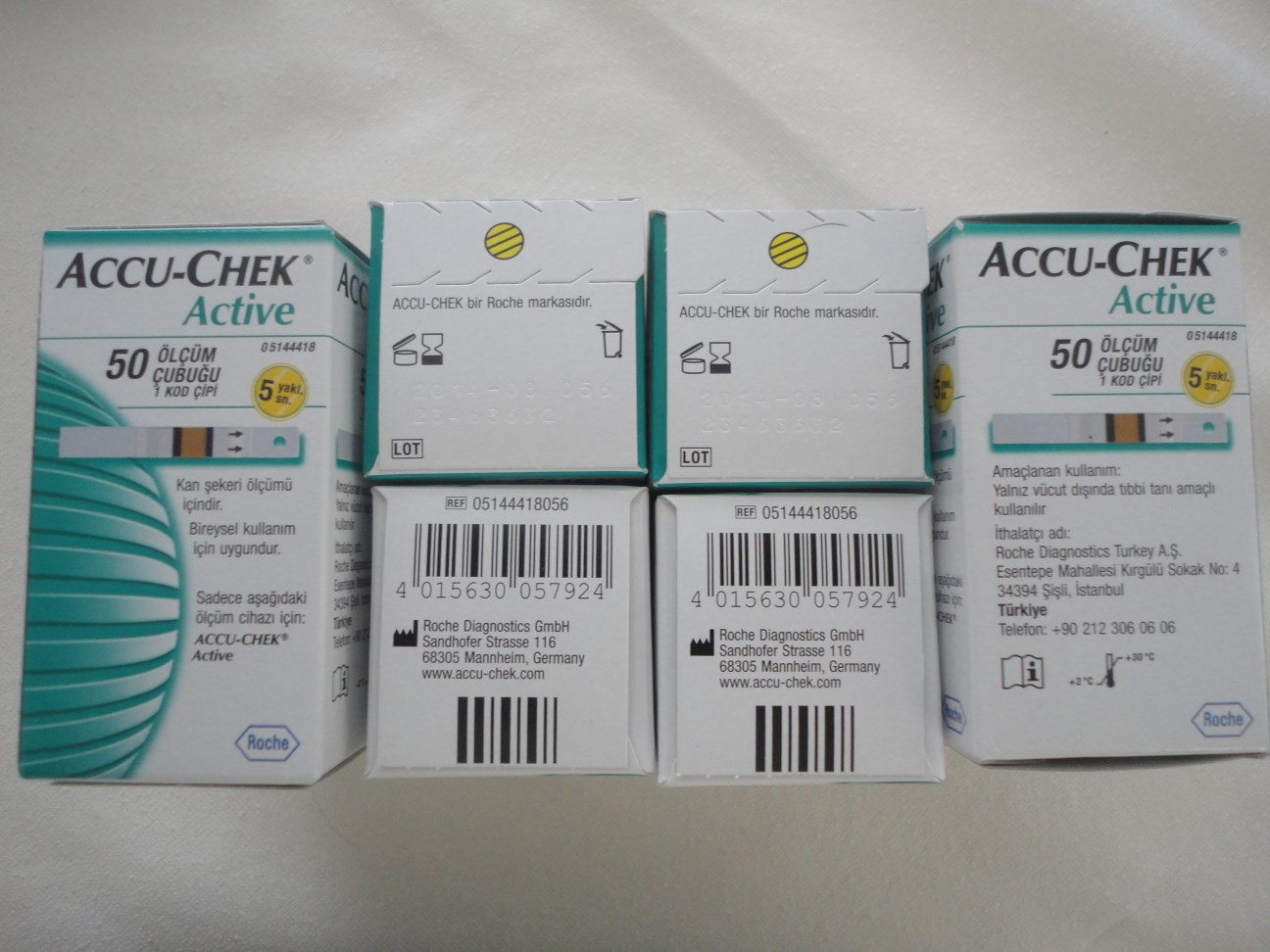 Buy Accu Chek Active Test Strips From Pro Makromed Health Products Strip