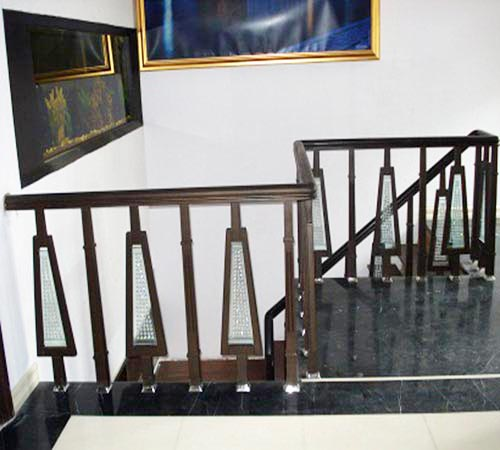 Wooden Stair Railings Manufacturer In Delhi India By Blue