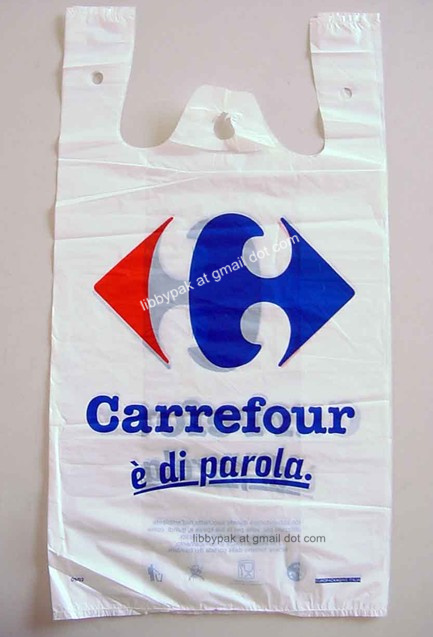 Polyethylene T Shirt Bags Manufacturer In China By