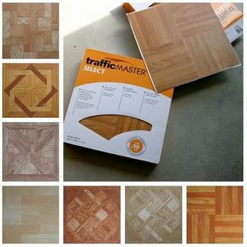 Self Adhesive Vinyl Floor Tiles Manufacturer In China By New Coast