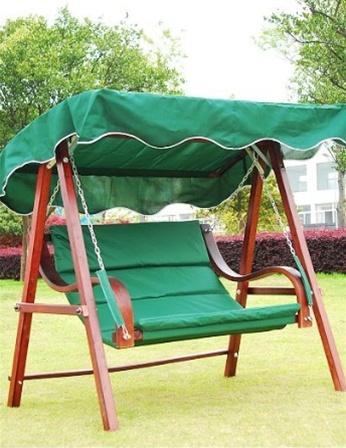 Wooden Garden Patio Swing Bench Chair W Canopy (0113) & Wooden Garden Patio Swing Bench Chair W Canopy Manufacturer in ...