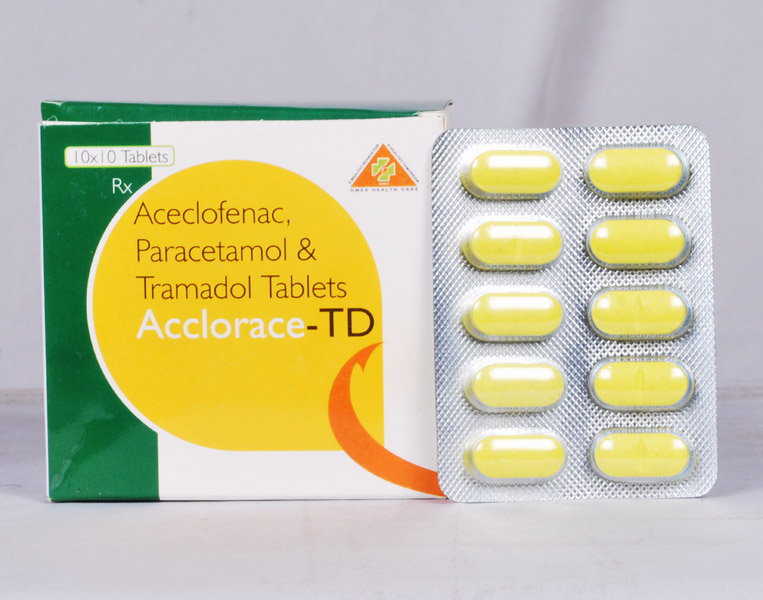 Acclorace-TD Tablets Manufacturer in Tirupati Andhra Pradesh