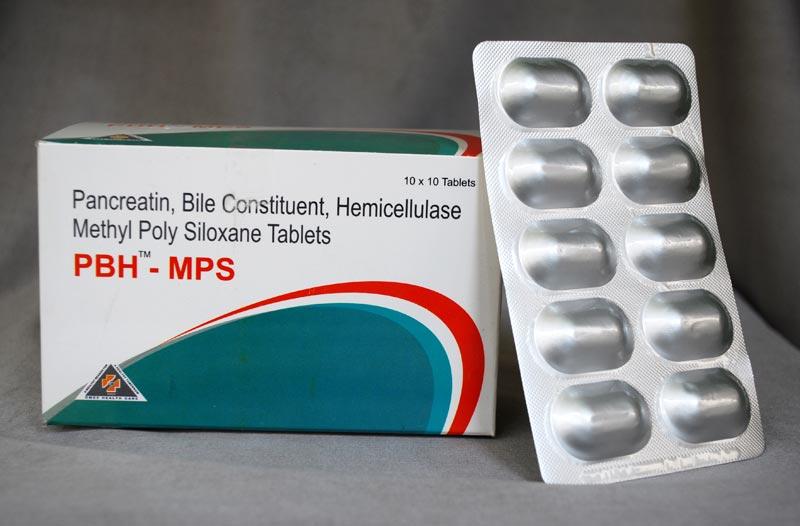 PBH-MPS Tablets Manufacturer in Tirupati Andhra Pradesh