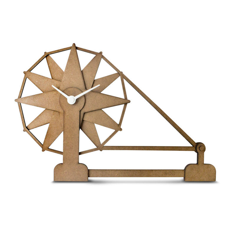 Buy Charkha Wall Clock from Indus Creed Lifestyle Marketing
