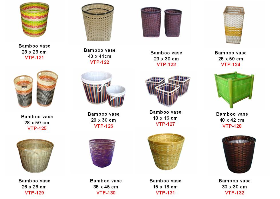 Vietnam Bamboo Vase High Quality