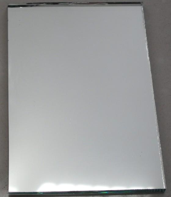 Silver Mirror Glass Sheet