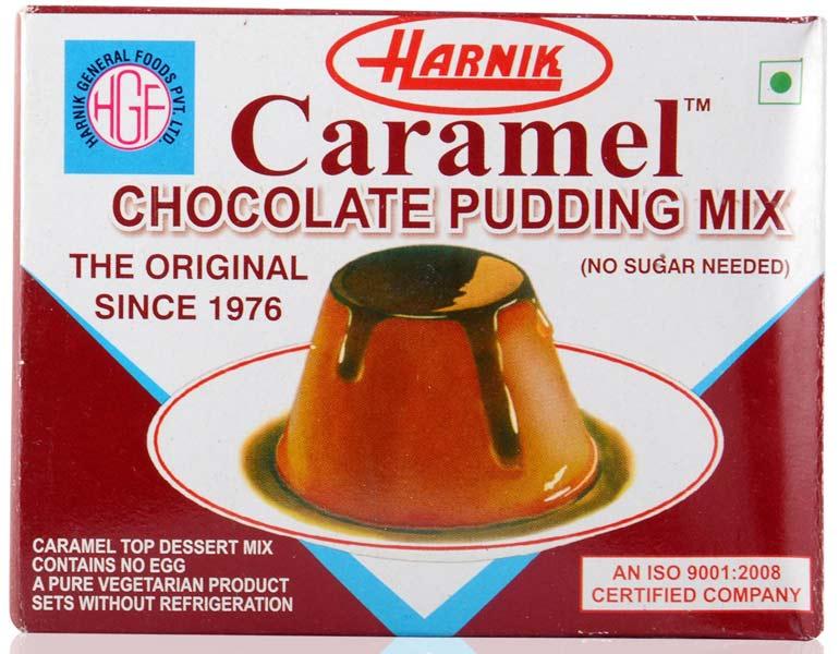 Chocolate caramel pudding (C-CP)
