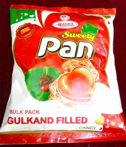 Sweety Pan Candy (Gulkand Filled Pan Candy)