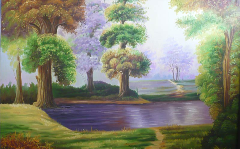 scenery painting manufacturer manufacturer from india