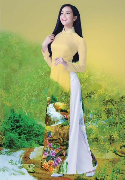 Buy Aodai - Vietnamese Long Dress from Ngocbich Clothing Maker ...
