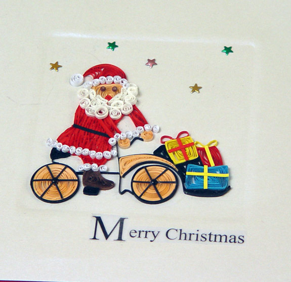 Buy Quilling Christmas Card From Vietcraft Jsc Viet Nam Id 1043091