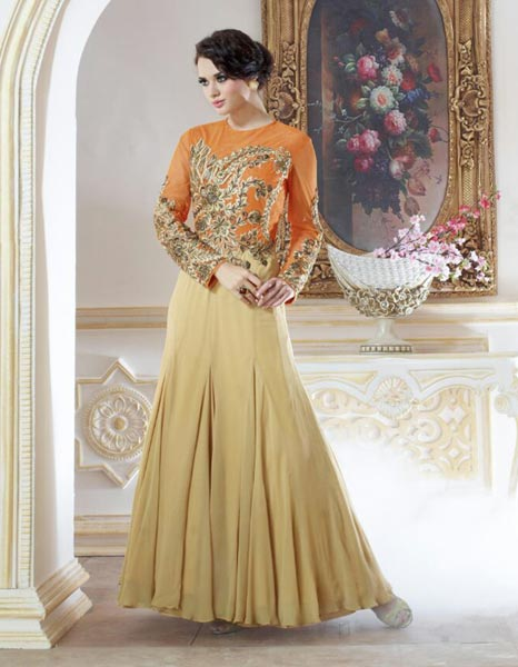 Georgette Gowns
