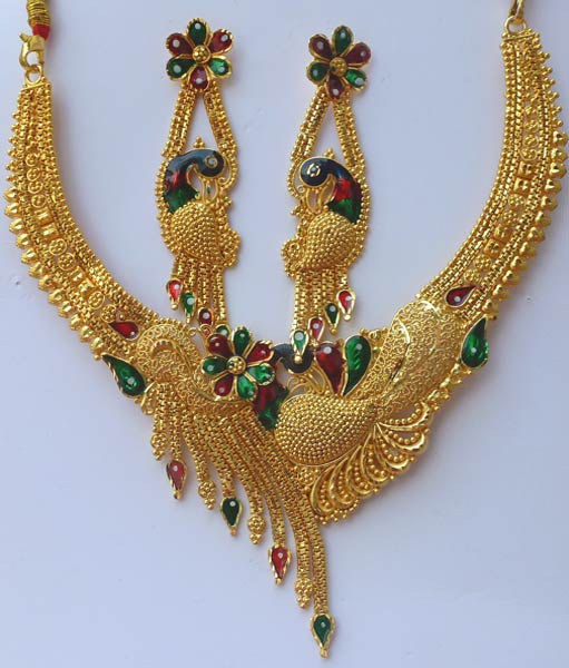 Gold Plated Necklace Set (GPMN 1) & Gold Plated Necklace Set Manufacturer \u0026 Manufacturer from Howrah ...