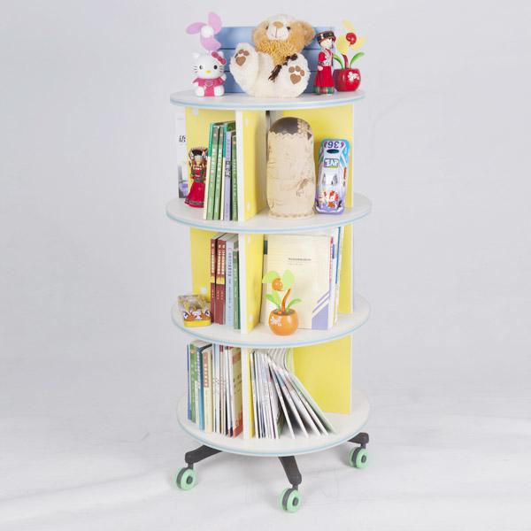 Movable Bookshelf Revolving DSBS01