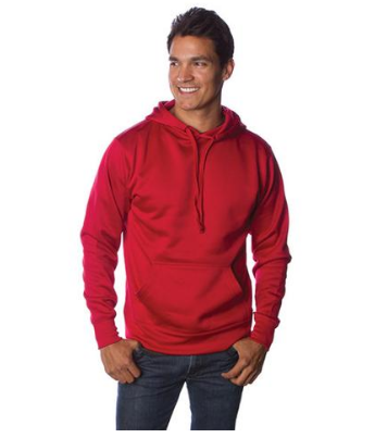 Poly Tech Pullover Hooded Sweatshirt