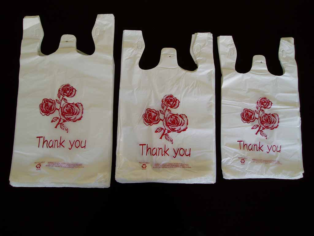 Hdpe T Shirt Handle Bags (HD-PTSB)