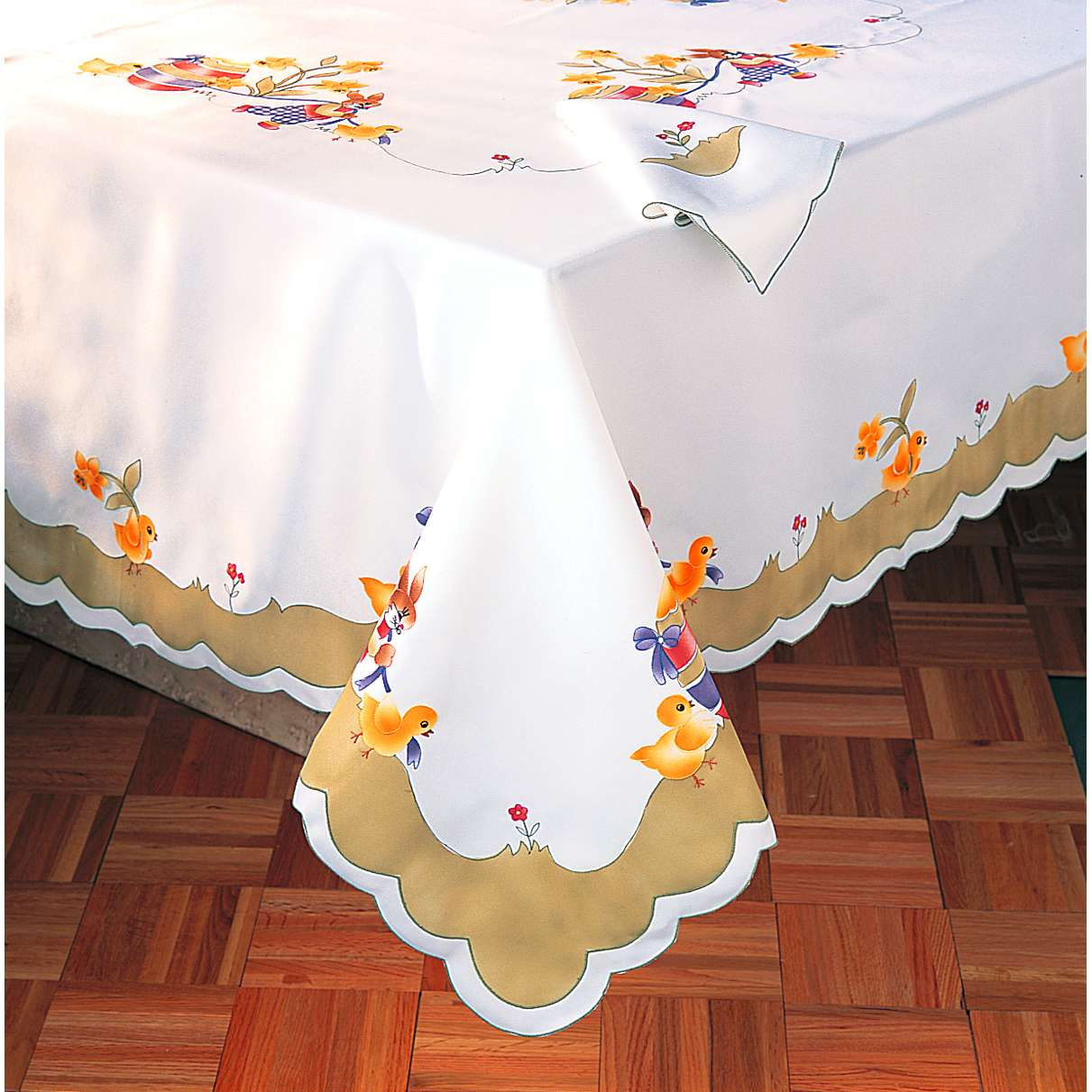 Buy Designer Table Cloth From Ideal Textiles India
