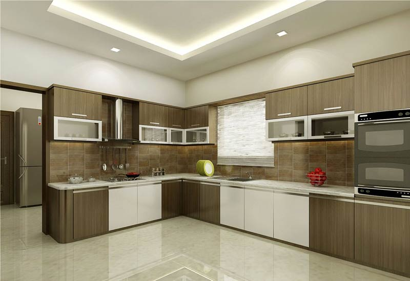 Wooden modular kitchen manufacturer infaridabad haryana for Wooden modular kitchen designs