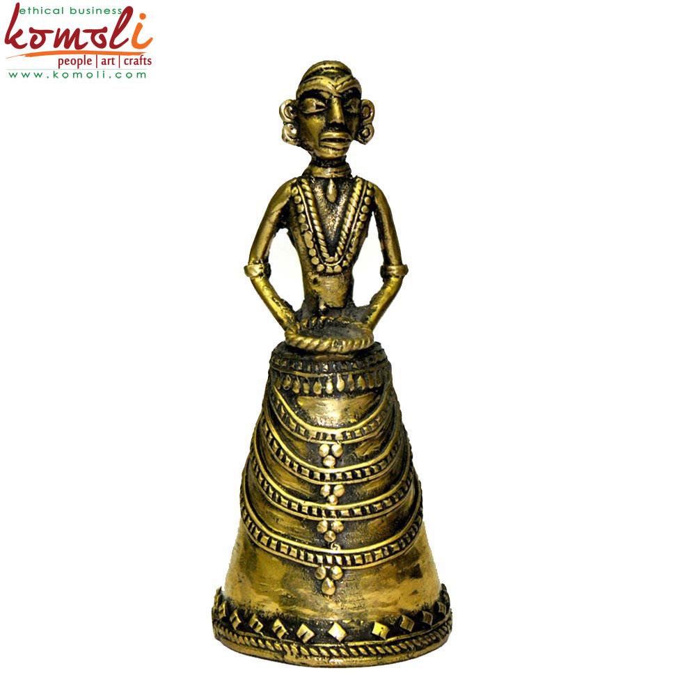 Dhokra Bell (Komoli-6004-GL)