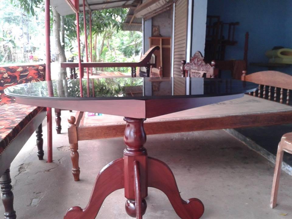 Single Leg Dining Table